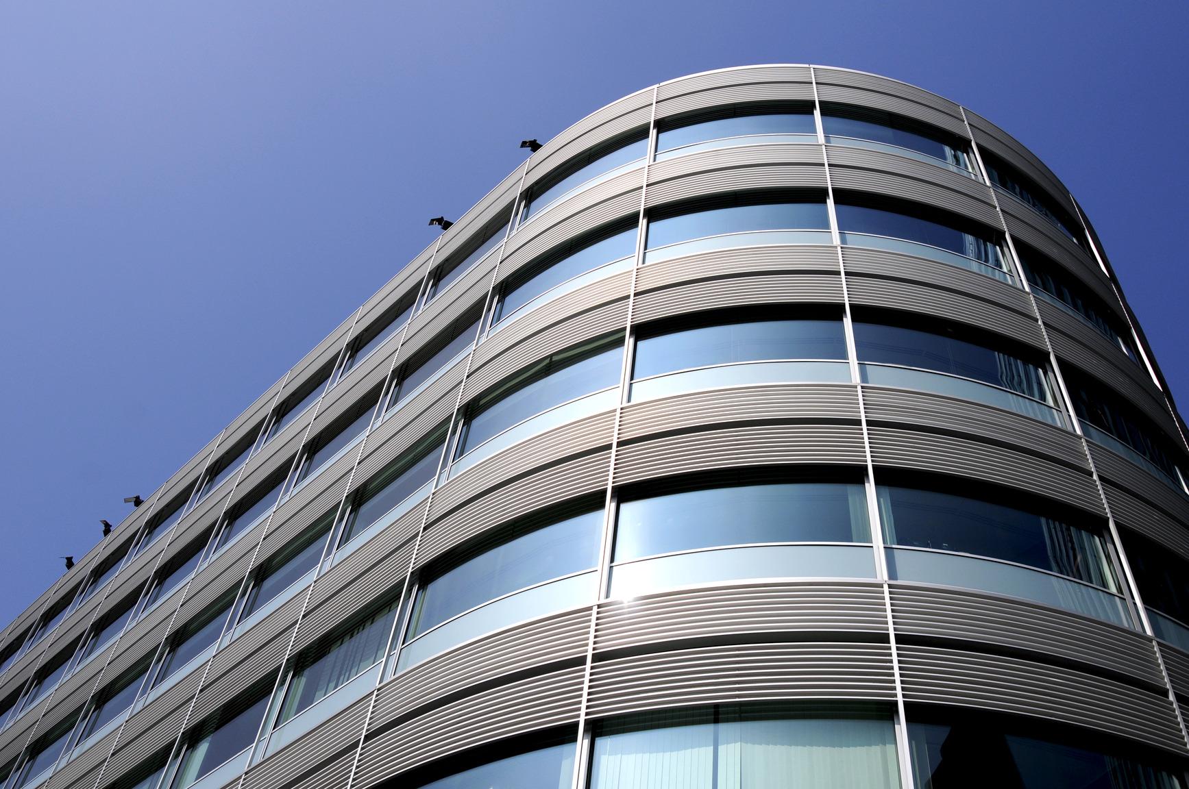 Modern office architecture exterior